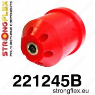 Strongflex sportovní silentblok Audi A1 8X, silentblok zadní nápravy
