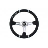 SLIDE sportovní volant - černý, průměr 35cm