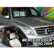 HEKO ofuky oken Mercedes Benz GLK X204 5dv (2008-2015) přední