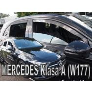 HEKO ofuky oken Mercedes Benz A W177 5dv (2018-) přední + zadní