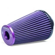 Raemco vzduchový filtr - univerzální, vstup 70mm, délka 200cm, fialový