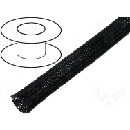 Flexo oplet 20 mm černý