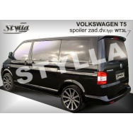 Stylla spoiler zadních dveří VW T5 + facelift (2003 - 2016) Multivan, Caravelle, Transporter