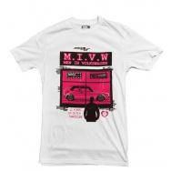 Wheel Whores tričko uni - Dutch Hardcore White, velikost XXL