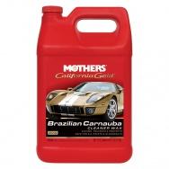 Mothers California Gold Brazilian Carnauba Cleaner Wax - tekutý čistící vosk s obsahem karnauby, 3,785 l