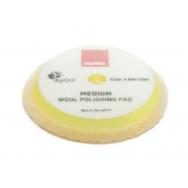 """RUPES Yellow Wool Polishing Pad MEDIUM - vlněný lešticí kotouč (střední) pro orbitální leštičky, průměr 130/150 mm (5""""/6"""")"""