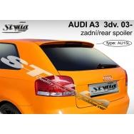 Stylla spoiler zadních dveří Audi A3 3dv (8P, 2003 - 2012) horní