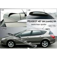 Stylla spoiler zadních dveří Peugeot 407 SW (combi)
