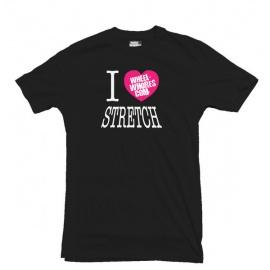 Wheel Whores tričko uni - I Heart Stretch, velikost S