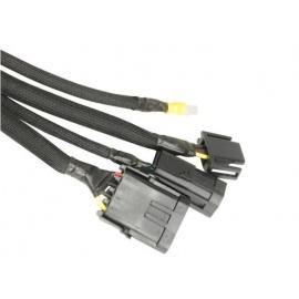 DEi Design Engineering Easy Loom - Split Wire Sleeve ochranná objímka na kabely a hadice, 19 mm x 3 m