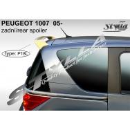Stylla spoiler zadních dveří Peugeot 1007