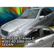 HEKO ofuky oken Mercedes Benz C W203 4dv sedan (2000-2007) přední + zadní