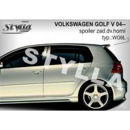 Stylla spoiler zadních dveří VW Golf V (5) htb