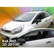 HEKO ofuky oken Kia Rio 3dv (2012-2017) přední