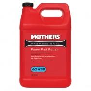 Mothers Professional Foam Pad Polish - profesionální speciální leštěnka na pěnové kotouče, 3,785 l