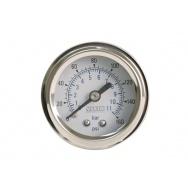 VIAIR ukazatel tlaku jednoručkový bílý