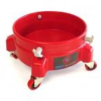 Grit Guard Bucket Dolly - pojízdná podložka pro kbelík - červená