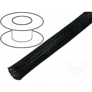 Flexo oplet 16 mm černý