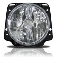 Přední světla VW Golf II (2) - chrom