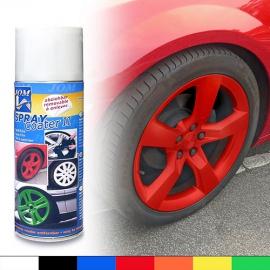 JOM barva na kola - folie ve spreji - červená