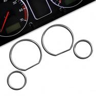 Chromované rámečky budíků BMW E36