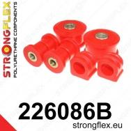 Strongflex sportovní silentbloky Seat Leon 1M 4x4 vč. Cupra, sada pro přední nápravu