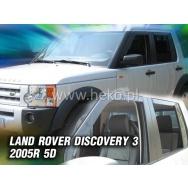 HEKO ofuky oken Land Rover Discovery III 5dv (2005-2009) přední + zadní