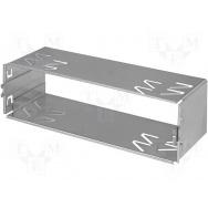 Plechový rámeček 1-DIN Alpine