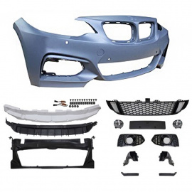 JOM přední nárazník s mlhovkami pro BMW 2, F22 - coupé a F23 cabrio (2013-2018) - SportLook