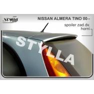 Stylla spoiler zadních dveří Nissan Almera Tino (2000 - 2006)