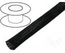 Flexo oplet 4 mm černý