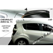 Stylla spoiler zadních dveří Chevrolet Aveo htb (T300, od 2011) - horní