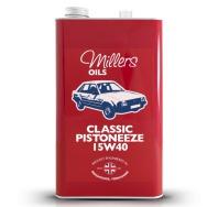 Motorový olej Millers Oils Classic Pistoneeze 15w40, 5L