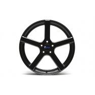 TA Technix XF1 ALU lité kolo konkávní 8,5x19 - černá lesklá, 5x112, 66,6/57,1 ET35