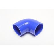 TurboWorks silikonová hadice - koleno 90° - 89mm vnitřní průměr, délka 100mm
