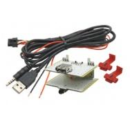 USB+JACK konektor Fiat 500L