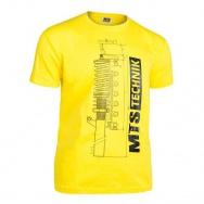 MTS Technik Strut tričko - žlutá