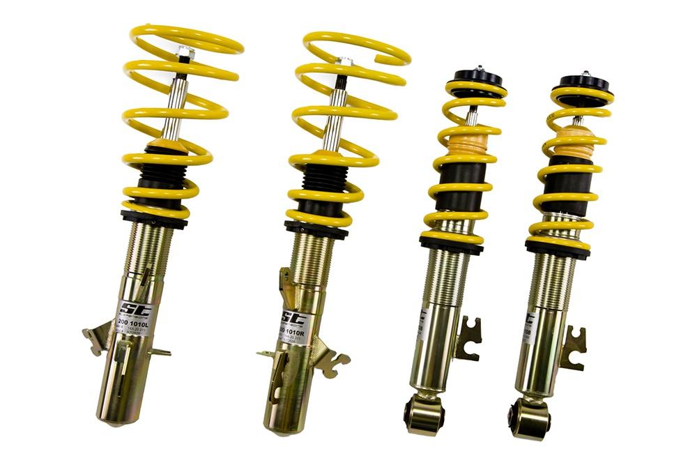 ST suspensions (Weitec) výškově stavitelný podvozek Opel Corsa A; (A-CC), zatížení přední nápravy -680kg, snížení zadní nápravy cca 40cm