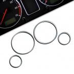 Chromované rámečky budíků Opel Astra G