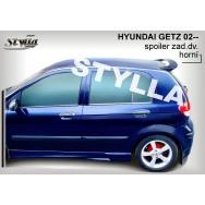 Stylla spoiler zadních dveří Hyundai Getz - horní