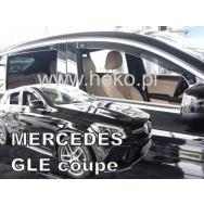 HEKO ofuky oken Mercedes Benz GLE C292 5dv (2016-) přední + zadní