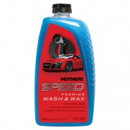 Mothers Speed Foaming Wash&Wax - autošampon s voskem, 1,42 l