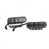 MYCARR špičková světla pro denní svícení s modulem, který zajistí automatické rozsvícení po startu motoru a zhasnutí při zapnutí potkávacích světel vozidla. Homologace dle EHK/OSN č. 48 pod číslem E11 - 00 0006.