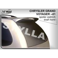 Stylla spoiler zadních dveří Chrysler Voyager (1995 - 2001) - horní