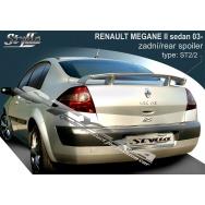 Stylla spoiler zadního víka Renault Megane II sedan (2002 - 2008)