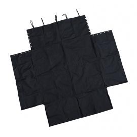 JOM ochranný potah do kufru nylonový - černý, 100 x 73 cm