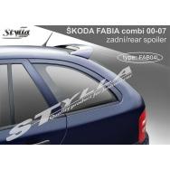 Stylla spoiler zadních dveří Škoda Fabia I Combi (1999 - 2007) - horní