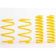 Sportovní pružiny ST suspensions pro VW Bora (1J) s poh. předních kol, Sedan, r.v. od 10/98 do 05/05, 1.4/1.6, snížení 40/40mm