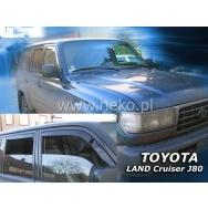 HEKO ofuky oken Toyota Land Cruiser J80 5dv (1990-1998) přední + zadní