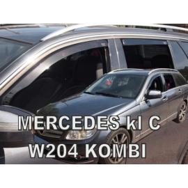 HEKO ofuky oken Mercedes Benz C W204 4dv Kombi (2007-2014) přední + zadní